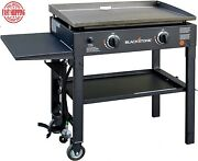 Blackstone Propane Gas Grill Griddle Station 2 Burner 28 Inch Outdoor Cooking
