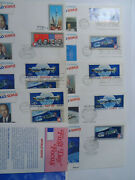 Stamp Mart Usa And Russia 1975 Apollo Soyuz Space Mission 9 Fdc + Leaflet
