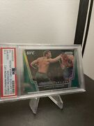 Conor Mcgregor Psa 10 Green Knock Out Artists Pop 1