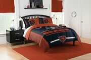 The Northwest Company Nfl Chicago Bears Full Comforter And Sham Set Full/quee...