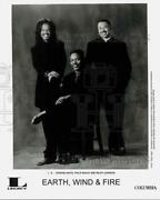Press Photo The Earth Wind And Fire Music Group - Ctga10216