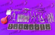 Cataract Set Of 40 Pieces Opthalmic Eye Instruments Ey By Tid