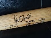 Paul Oand039neill 2000 World Series Game Used Bat