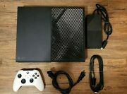 Xbox One Console W/ 1 Controller, P-supply And Hdmi Cable 1tb Model 1540 1327