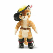 Rare Limited Edition Steiff Steiff Teddy Bear Cat In Boots Puss In Boots By Ea