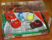Disney Store Limited Cars 2 That39s Amore Diecast 4car Set Talking Lightning