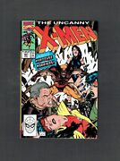 Uncanny X-men 261 Marvel Comics 1990 Nm Jim Lee And Hardcase And The Harriers