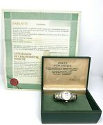 Rolex Oyster Perpetual Date Woman Watch With Mickey Mouse Reference 6517