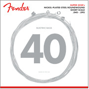 Fender 5250 Short Scale Nickel Plated Bass Strings .040 -.095 Made In The Usa