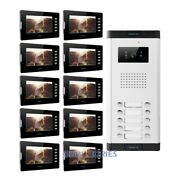 7 Tft Video Secure Doorbell Intercom Electric Lock Supported For House/flat