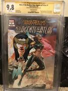 New Agents Of Atlas 1 Variant Cgc 9.8 Signed And Sketched By Mico Suayan