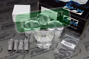 Cp Forged Pistons With Hd Pins Acura K24 W K20a/a2/a3 Tsx 87mm 10.01