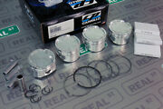Cp Forged Pistons With Hd Pins Acura K24 W K20a/a2/a3 Tsx 87.5mm 10.01