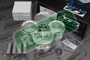 Cp Pistons With Hd Pins 4g63t 2g Eclipse Evo 8 9 85.5mm 8.51 9.01 4g63