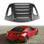 Rear Window Louver Sun Shade Cover For 13-18 Brz/scion Frs/toyota Fn