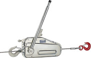 Tractel 849202430k Griphoist Tu-17 Wire Rope Hoist With 30and039 Wire