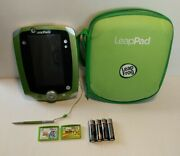 Leapfrog Leappad 2 Explorer Learning System Green- With Games Case And Batteries