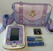 Vtech Innotab 3 Disney Princess Learning Game System + Games, Case And Batteries