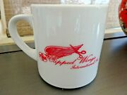 Twa Clipped Wings Coffee Cup Mug Trans World Airlines Flight Attendants 12 Oz