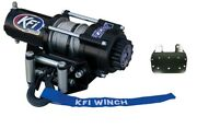 Kfi 2500 Lb Winch And Mount Kit For Yamaha Grizzly Yfm 660 02-08