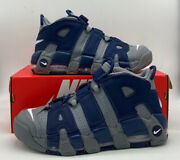Nike Air More Uptempo And03996 Retro Georgetown Cool Grey Navy 921948-003 Mens Size