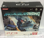 Playstation 3 Ps3 Console 250gb Metal Gear Solid Rising Revengeance Used Japan