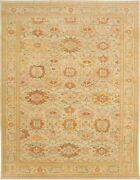 Hand-knotted Turkish Carpet 10and0396 X 13and0397 Authentic Ushak Traditional Wool Rug