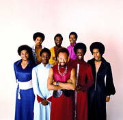 Earth Wind And Fire Old Photo Music Band Singer Performer 1