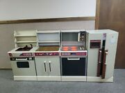 Vintage 1983 Sears Lil Kenmore Kitchen Playset - Or Best Offer