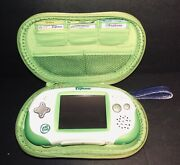 Leap Frog Leapster Explorer Lot - 3 Games, Case, And Camera/video Pack - Tested
