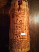Sherry Donpe Extract Convento Celexion 1931 Empty Bottle And Wooden Box