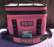 Extremely Rare Yeti Hopper Flip 12 Soft Cooler 🔥 Limited Edition Harbor Pink