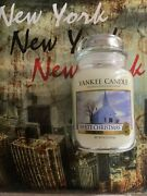 Yankee Candle Vaso Grande Usa 2013 Andnbsp White Christmas Andnbsphard To Find