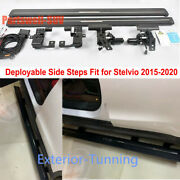 Deployable Electric Running Board Side Step Fit For Alfa Romeo Stelvio 2015-2020