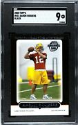 Andnbspsuper Rare Topps Black Aaron Rodgers 2005 Sgc 9 Extremely Low Pop Nice Card