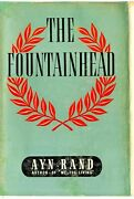 Ayn Rand The Fountainhead First Uk Edition Dust Jacket Cassell 1947 Rare