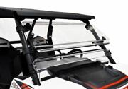 Spike Full Tilting Front Windshield For Polaris Rzr Xp 900 1000 Rzr10ws1000