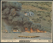 Helicopter Fire Smoke Very Rare The Last Grenade '70