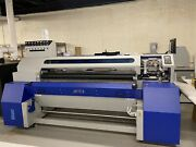 2 Used Mimaki Ts300p-1800 / Mtex Blue Dtg Textile Printers For The Price Of 1