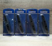 Charter Marine Accessories 6 Nylon Cleat Cm52138 Sealed Lot Of 4 Boating Tie