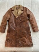 Dr. Who War Doctor Cowhide Leather Overcoat X Magnoli Clothiers Sz-m Cosplay Mto