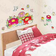 Chubby Flower - Wall Decals Stickers Appliques Home Decor