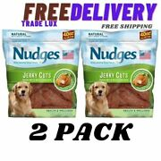 Nudges Health And Wellness Chicken Jerky Dog Treats 40 Oz. 2 Pack