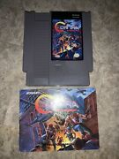 Contra Force Nes Authentic W/ Manual