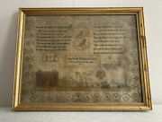 Early 19th Century English Antique Sampler