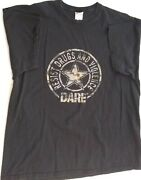Dare To Resist Drugs And Violence T Shirt D.a.r.e. Camo Size 2xl