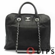 Punching Leather 2way Bag Leather