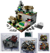 Lego 21105 Minecraft Micro World The Village New Sealed Bags - Missing 1 Of 6