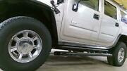 03-07 Hummer H2 Set Of 4 Chrome 17and039 Wheels No Tires See Description
