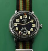 1930and039s Helvetia Wwii German Luftwaffe Military Bomber Pilots All Original Watch